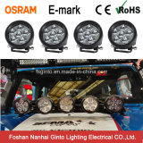 Ginto 3.5inch 둥근 Osram 반점 Offroad 4X4 LED 작동 빛 (GT2009-18W)