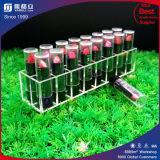 Cadre acrylique de support de rouge à lievres pour l'étalage cosmétique