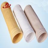 Sacchetto filtro industriale del feltro di Aramid Needled per il collettore di polveri
