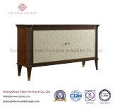 Mobília extraordinária do hotel com carrinho delicado da tevê da sala de visitas (8632-1)