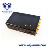 8 GSM 3G 4glte van de antenne de Handbediende Stoorzender van de Telefoon 4gwimax Gpsl1/L2 Lojack