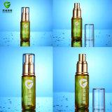 Bottiglie di vetro impaccanti cosmetiche rotonde delle estetiche con il vaso