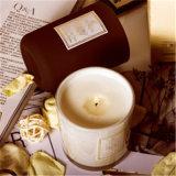 Vela perfumada vendedora caliente de la mini del tarro soja determinada de cristal del regalo
