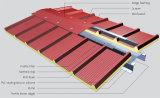 Feuille ondulée grise blanche de la toiture Yx70-470 pour le toit