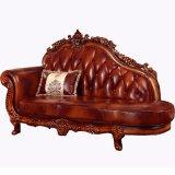 Sofá de cuero con armarios para Muebles de Salón (929R1)