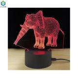 Nachtlicht des Tisch-3D der Lampen-LED mit veränderbarer Farbe