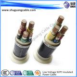 Cable de transmisión eléctrico de marina de la baja tensión para la nave