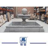 Het natuurlijke Graniet/de Marmeren Snijdende Fontein/de Bal van het Water passen G603 de Grijze Fontein van de Bal van het Graniet voor het de de de OpenluchtTuin/Muur/Openlucht/Werf/Plein van de Decoratie aan