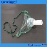 처리 PVC Tracheostomy 가면