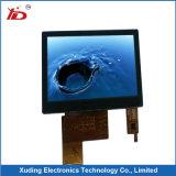 2.8 TFT LCD hohe Helligkeit der Bildschirmanzeige-Auflösung-240*320 mit widerstrebendem Touch Screen