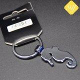 L'émail personnalisé gravé la chaîne de clé de voiture en métal Maker