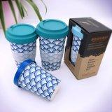 Wholesable biodegradierbare Bambusfaser-Kaffeetasse (YK-BC4136)