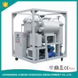 Estilo hermético ninguna eficacia alta del sistema del vacío del ruido de la filtración del petróleo de /Turbine de la máquina del purificador del aceite lubricante del contenido en agua (ZRG)