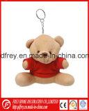 Venda a quente Dom Moda brinquedo do chaveiro Teddy Bear