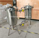 De DuplexFilter van het roestvrij staal voor de Drank van het Voedsel