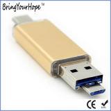 Taper le lecteur flash USB de C 3.1 pour le téléphone mobile (XH-USB-179)