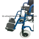 Venta caliente, sillón de ruedas manual de acero (KBW871)