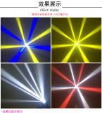 4*25W LEDの夕食のビーム段階の移動照明