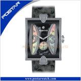 Montre-bracelet avec du charme Psd-2371 de dames d'acier inoxydable de bonne qualité de mode