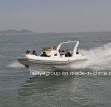 Liya 2.4-8.3meter中国の半硬式の膨脹可能なボートHypalon