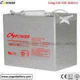 12 volt, de Diepe Navulbare Batterij van de Cel van het Gel van Cyclus 75 Ah
