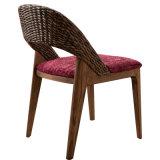 椅子を食事するホテルの家具の藤シリーズ余暇
