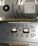 Todo en uno de 30W solar calle Camino de Luz LED Impermeable IP65