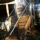 Het uitstekende Ontworpen Traliewerk van de Staaf van de Draad van het Systeem van het Traliewerk van de Kabel van het Roestvrij staal