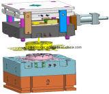 3 Estructura de las placas de molde de moldeado a presión de disipador de calor