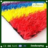 Het kleurrijke SGS van het Onderwerp van de Decoratie Gediplomeerde Kunstmatige Gras van Ce