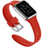 Новая конструкция красочные силиконового каучука смотреть ремешок для Apple Смотрите