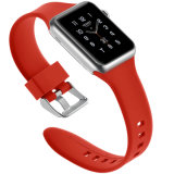 Neuer Entwurfs-buntes Silikon-Gummi-Uhrenarmband für Apple-Uhr