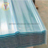 El panel acanalado del material para techos de la fibra de vidrio transparente de China FRP