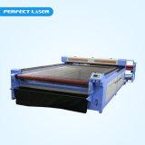 Grande Sacle 80W 120W 150W / tecido macio / Cortador de laser de CO2 têxtil com alimentador automático