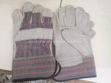 """10.5 """" court-circuit de soudage à bon marché en cuir des gants de sécurité de la Chine fabricant"""