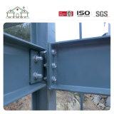 Diseño hermoso y casa de acero ligera prefabricada rápidamente construida del chalet