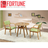 高品質の焦茶の木のレストラン表および椅子(FOH-BCA53)