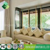 호텔 가구 (ZSTF-23)의 자연적인 작풍 단단한 나무 침실 세트