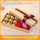 Empaquetado impreso del rectángulo del chocolate (BLF-GB543)