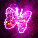 Espectáculo de luzes Rosa Atraente Big Ouvir Mall Decoração de iluminação