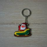 Großhandelssankt Keychain für Weihnachtsverzierung