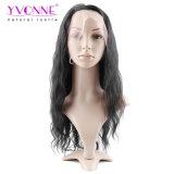 Yvonne os cabelos Brasileiro Full Lace Peruca Onda de Água