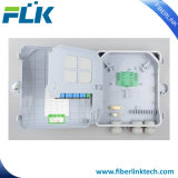 FTTX FTTH en la pared Caja de distribución de fibra óptica del Gabinete de la red de acceso