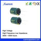 De Condensator van de Filter van de Hoge Frequentie van China 6.8UF 160V 4000hours