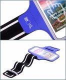 Armband van de Zak van de Telefoon van de Sport van de gymnastiek de Weerspiegelende met Universele Hefboom Headphome