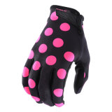 Желтый воздуха вещевого ящика Polka Dot перчатки Mx/MTB внедорожного перчатки (MAG120)