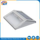 LED de alumínio 12V parede com luz solar no exterior para escadas
