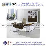 Mobília de escritório de madeira preta da mesa de escritório do projeto moderno da cor (M2611#)