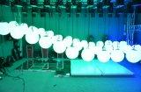 Neuer Entwurf! Heiße verkaufende des niedrigsten Preis-LED der Handkurbel-DMX512 anhebende Kugel Stadiums-kinetische des Licht-LED