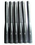 6 GSM CDMA 3G 2.4GHz van banden GPS L1 L2 L5 allen in Één Handbediende Mobiele Stoorzender van de Telefoon